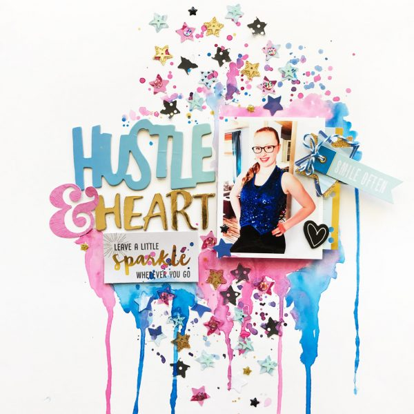 Hustle & Heart Layout