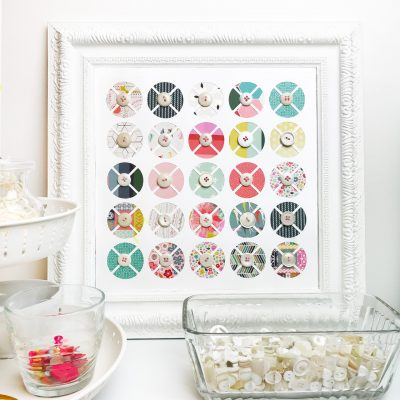Button & Cut File Decor