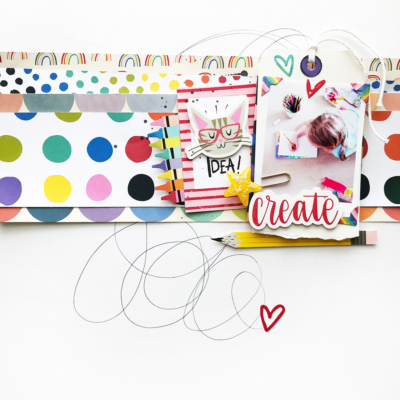 Layer Up Tags For Giving With Heidi Swapp Oh What Fun: Page 6