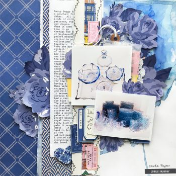 Blue China – Crate Paper