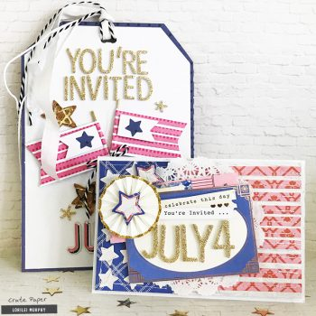 July 4th Party Invites – Crate Paper