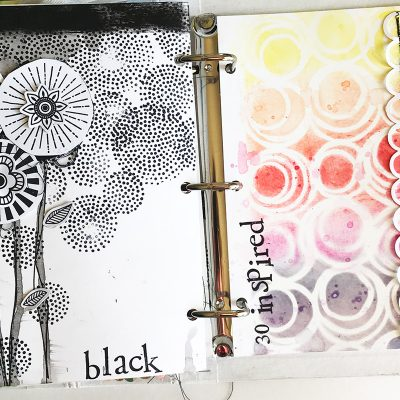 June Junque Journal – Vicki Boutin Mixed Media