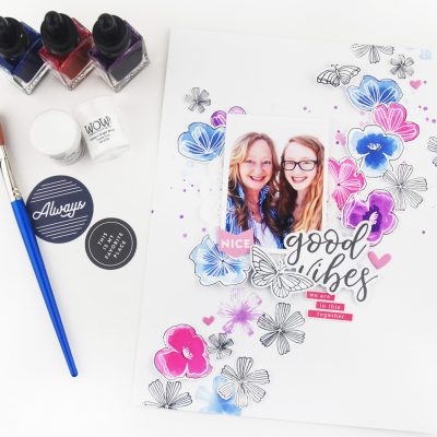 Pinkfresh Studio + WOW Embossing Powder Blog Hop