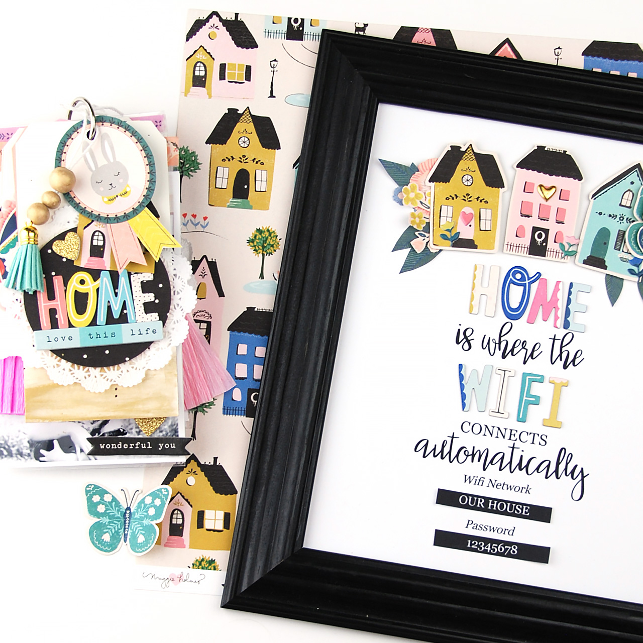 Home Mini Album and Decor – Crate Paper