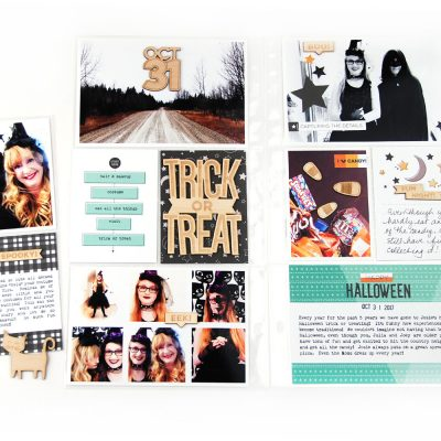 Halloween 6×12 Pocket Page – Elle's Studio