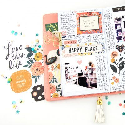 Happy Place – Journal Studio by Crate Paper