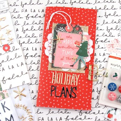 Merry Days December Traveler's Notebook – Crate Paper