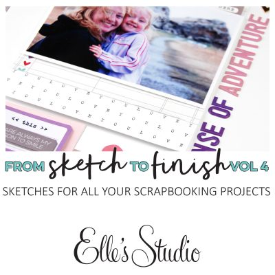 Sketch to Finish Vol 4 – Elle's Studio