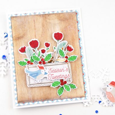 Holiday Card Blog Hop with Pinkfresh Studio
