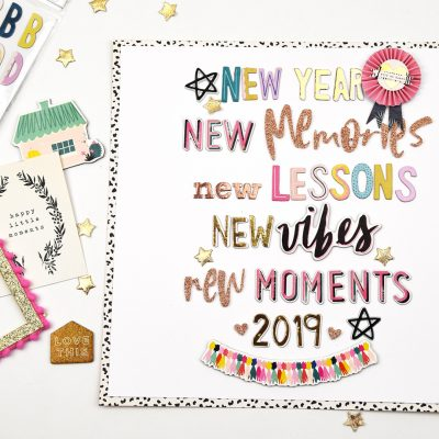 New Year Decor – Crate Paper