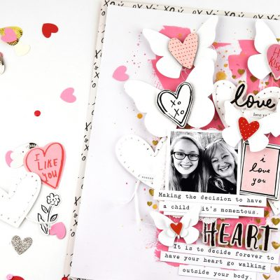 La La Love Layout – Crate Paper
