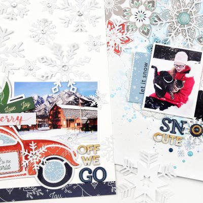 Holiday Vibes Winter Layouts – Pinkfresh Studio