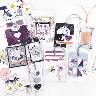 Ready Made Embellishments & Tags – Pinkfresh Studio