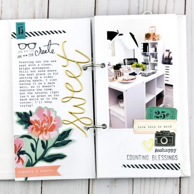 Sweet  – Traveler's Notebook Layout