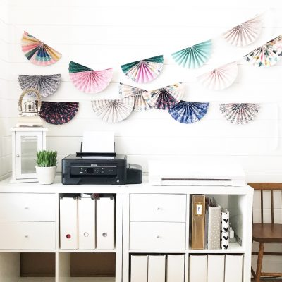 Create with Crate – Maggie Holmes Paper Fan Garland