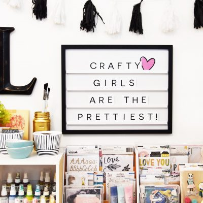 Letterboard Craft Room Decor – DCWV