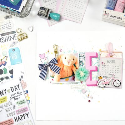 Sunny Days Easter Layout – Crate Paper