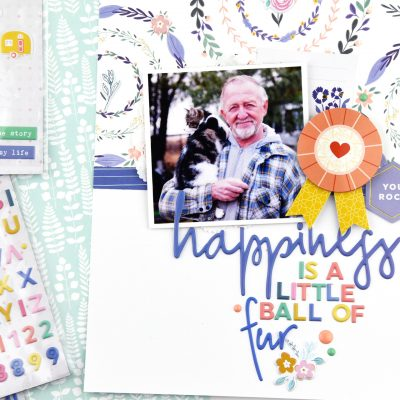 Joyful Day Layout and Pocket Page – Pinkfresh Studio