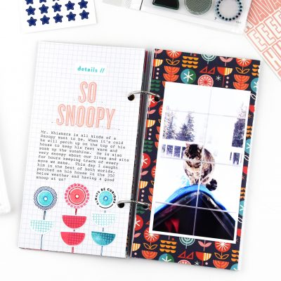 So Snoopy – Studio Calico Travelers Notebook