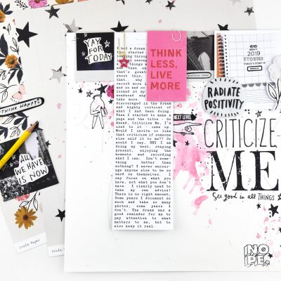 Criticize Me – All Heart by Crate Paper