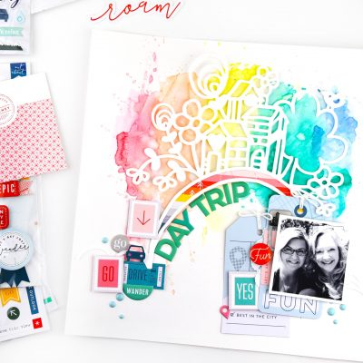 Out and About Layouts – Pinkfresh Studio