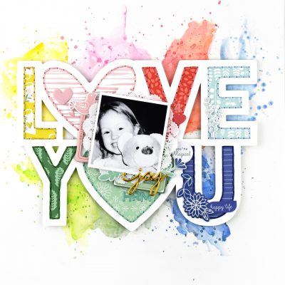 Love You – Pinkfresh Studio May Challenge