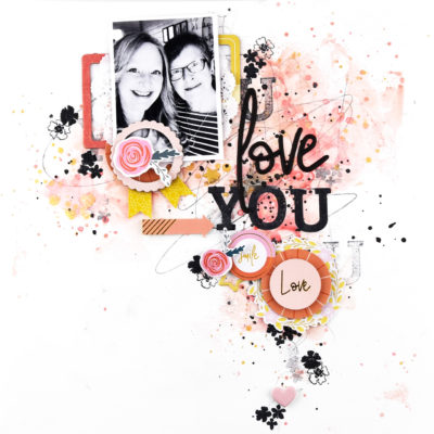 Joyful Day Mixed Media Layouts – Pinkfresh Studio