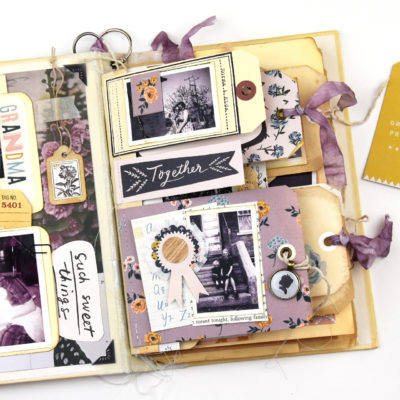 Junk Journal – Crate Paper and Maggie Holmes Heritage