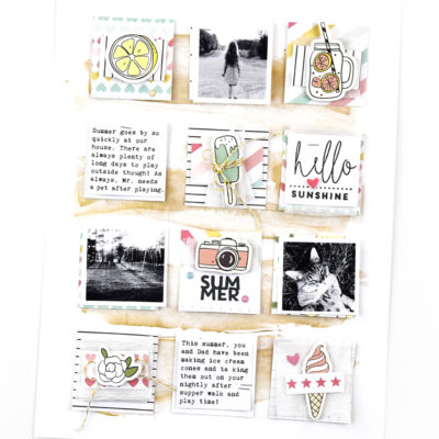 Summer Grid Layout – Felicity Jane