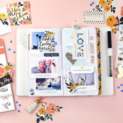 Travel Memories with Crate Paper Journal Studio