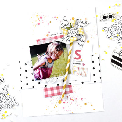 Summer Fun Layout – Felicity Jane