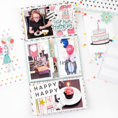 Birthday Mini Album – Felicity Jane