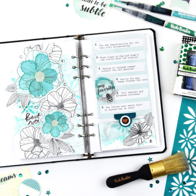 Mixed Media Traveler's Notebook – Vicki Boutin