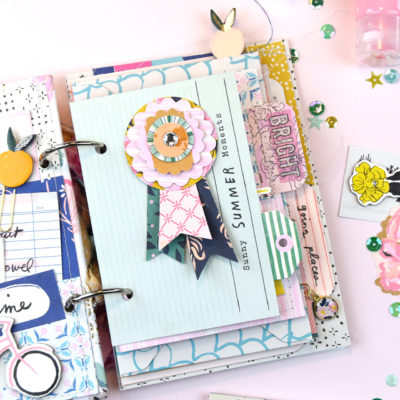 5 Ways to Add Interest to your Mini Albums – Crate Paper