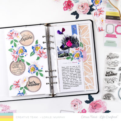 Floral and Stamped TN Life Crafted  – Citrus Twist Kits