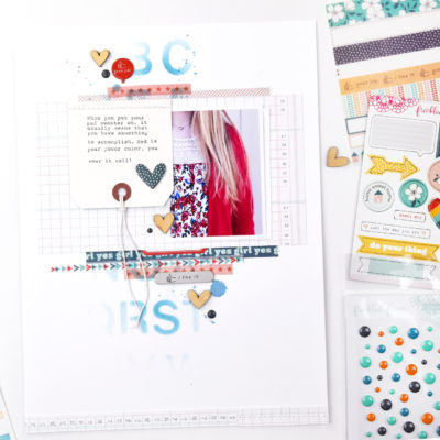 Fun Scrapbook Layouts – Freckled Fawn