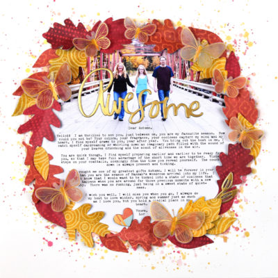 Fall Wreath Layout – Vicki Boutin