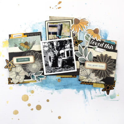 Pockets on Your Scrapbook Layout – Vicki Boutin