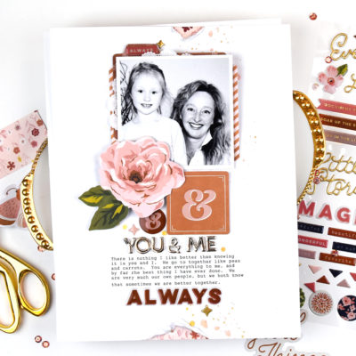 You and Me Layout – Citrus Twist Kits