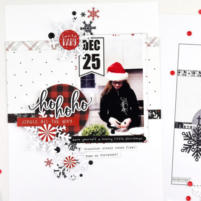 Pages Maps Sketch Layout with Photoplay Paper Kringle & Co.