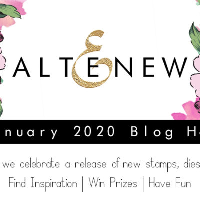 Altenew January 2020 Stamp/Die/Stencil Release Blog Hop + Giveaway