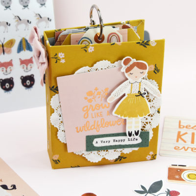 Magical Forest Mini Album – Crate Paper