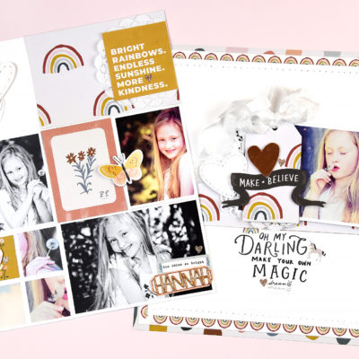 Magical Forest Double Page – Crate Paper