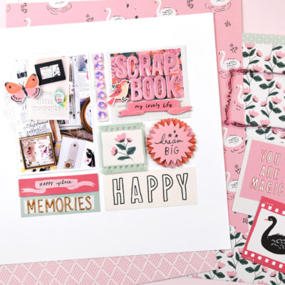 Why I Scrapbook Layout – Crate Paper