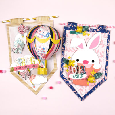 Spring and Easter Banners – Crate Paper and Maggie Holmes